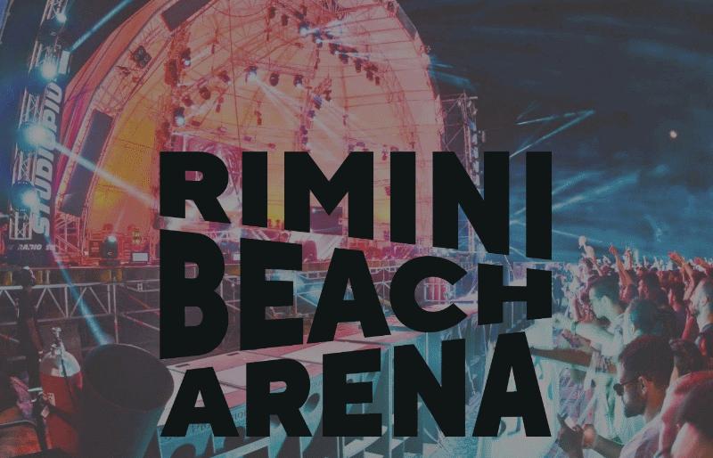 La Grande Musica in spiaggia con Rimini Beach Arena, la novità dell'estate 2019